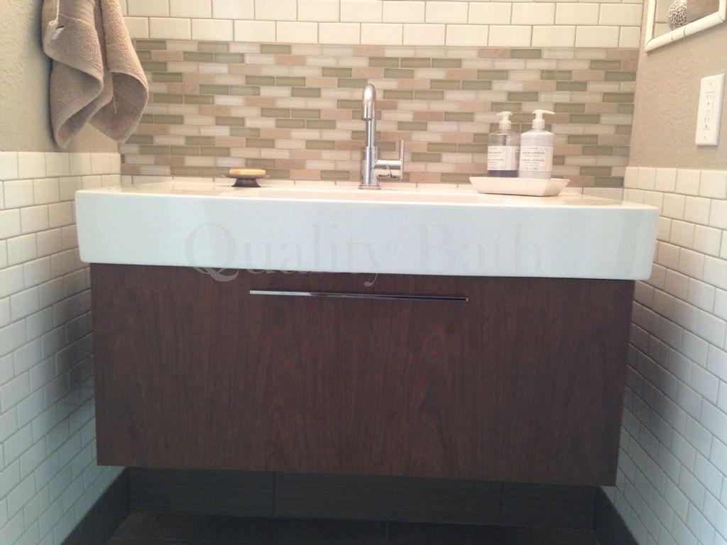"fo9573 fogo 39-3/8"" wall mount vanity unit, Badezimmer ideen"