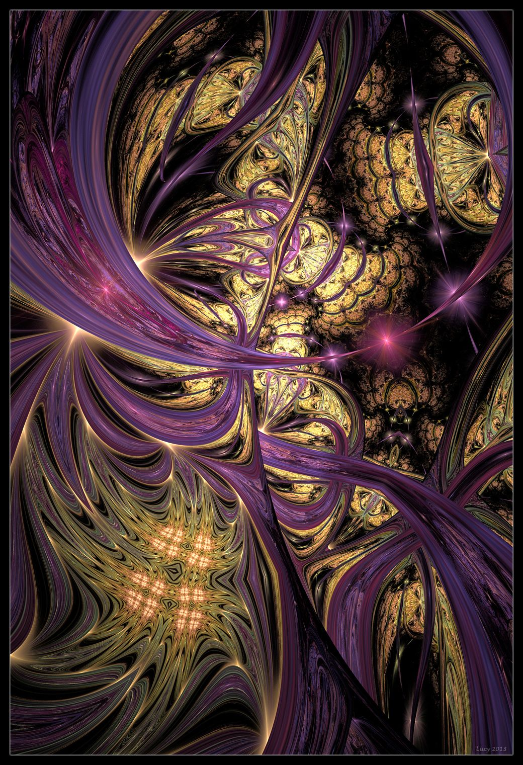 Alternative ways by loony lucy a fractal art pinterest apophysis photoshop for some adjustments made with the help of plangkyes tutorial link alternative ways baditri Gallery