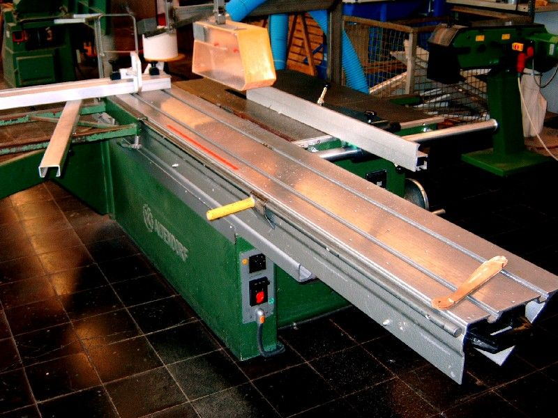 professional long german table saw
