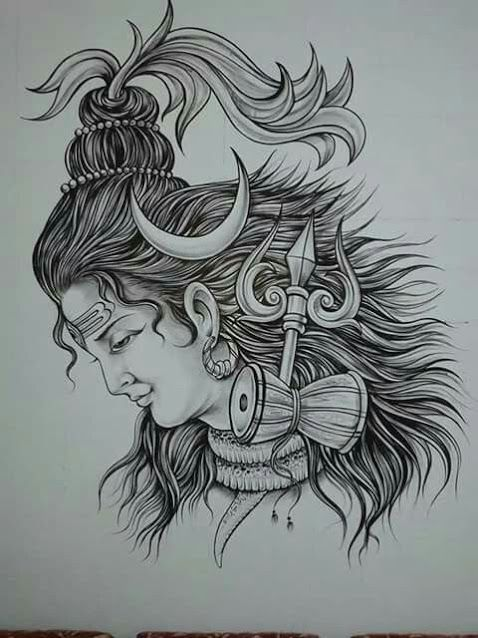 60 Bestest Shiva Tattoo Design And Ideas Shiva Tattoo Shiva Tattoo Design Lord Shiva Sketch