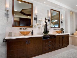 Asian Inspired Bath Vanities