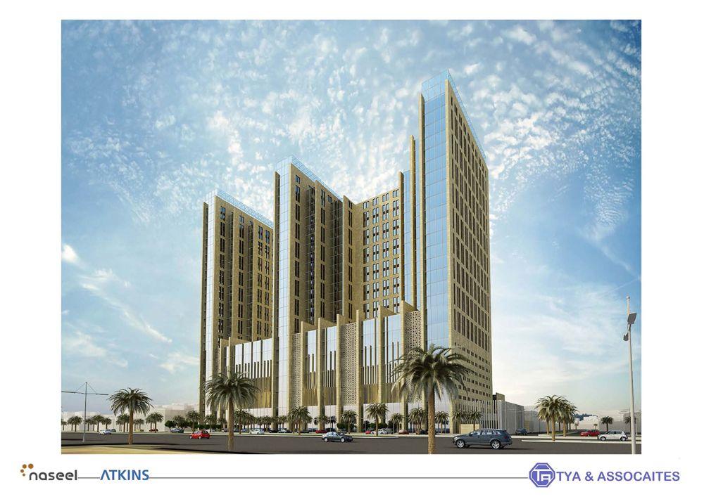 مقر نصيل مقترح التحلية Skyscraper Building Structures