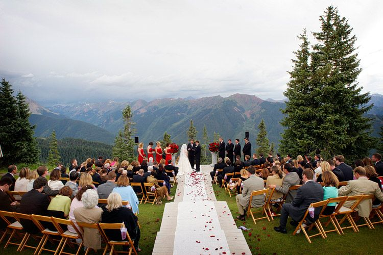 Aspen Colorado Wedding At The Little Nell Deck