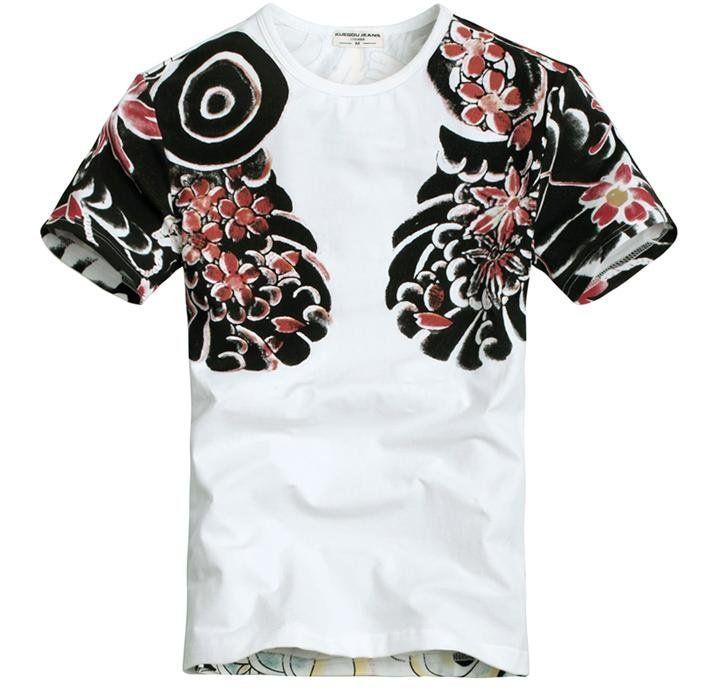 Yakuza Ink Shirt Tshirt Designs Mens Street Style Tomboy Fashion