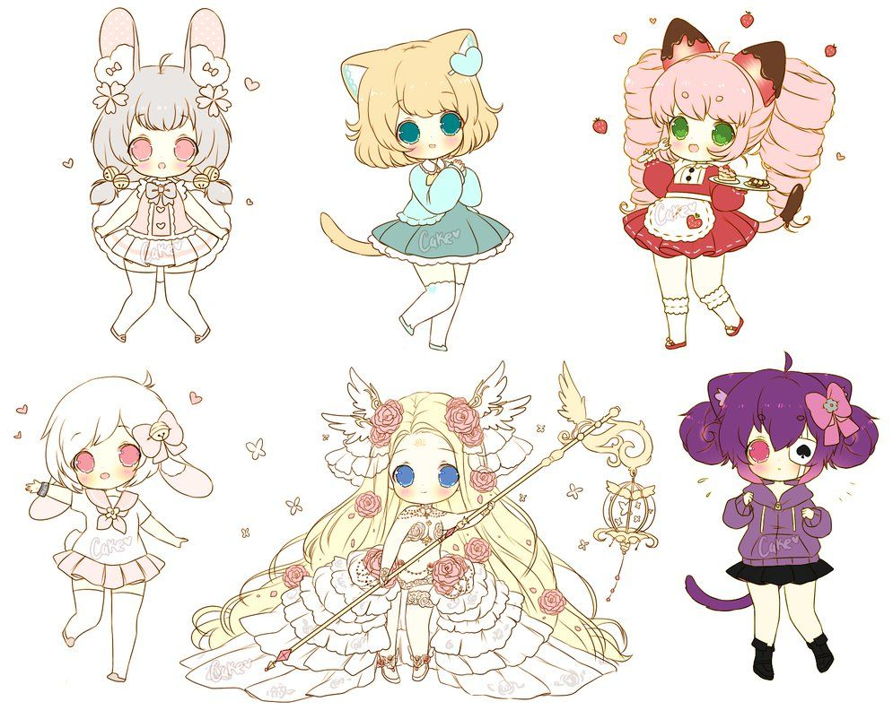 Chibi Sketch Batch 5 by on
