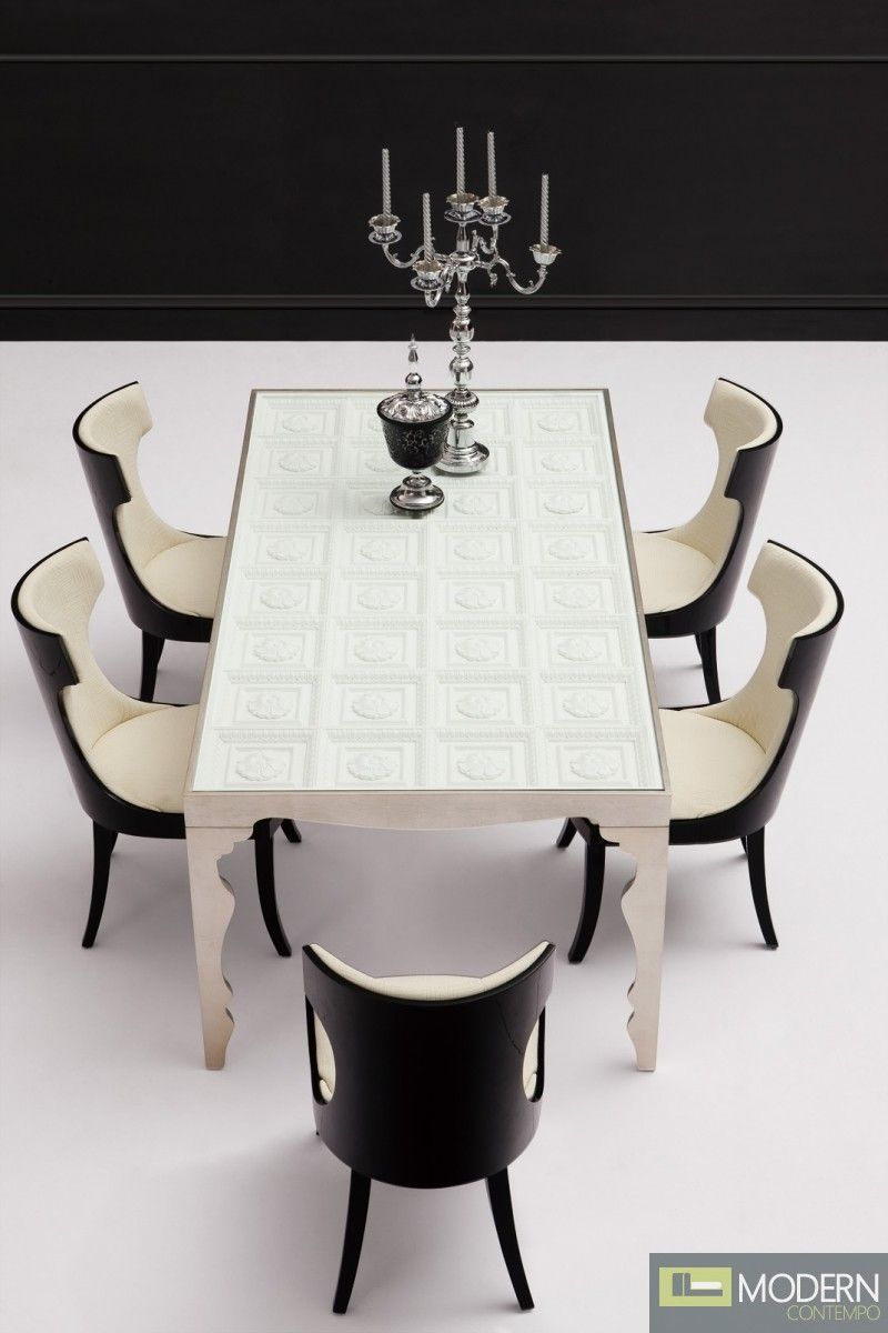 Admirable Farrera Modern Italian Style Dining Table Solid Wood Uwap Interior Chair Design Uwaporg