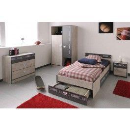 Superior Parisot Fabric Teenage Bedroom Furniture Set