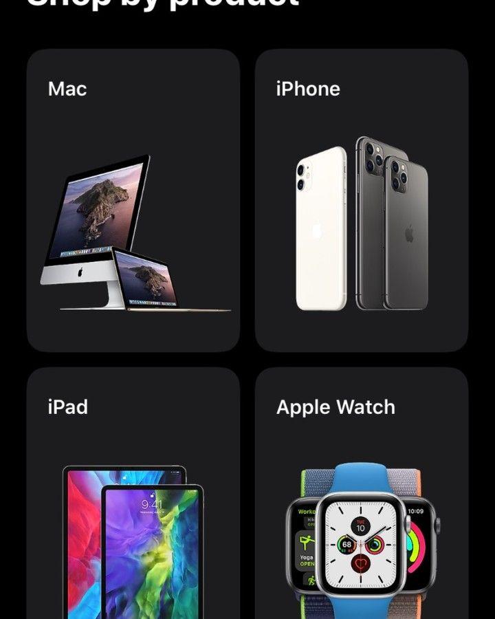 Apple Store App Now Support Dark Mode @ivlogyt_blog #tech #technology #blogger #applestore #apple #applenews #darkmode #applestoreapp