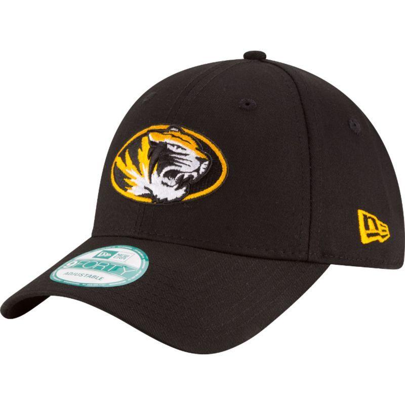 95c9047ce9e New Era Men s Missouri Tigers The League Black 9Forty Adjustable Hat ...