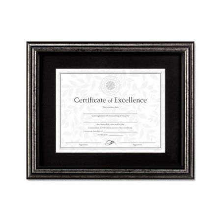 Dax Document Frame Desk Wall Wood 11 X 14 Antique Charcoal Brushed Finish Size 11 Inch X 14 Inch Certificate Frames Document Frame Frame
