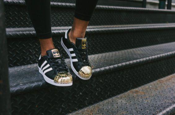 http://SneakersCartel.com Gold Shines On The adidas Originals Superstar Metal Toe #sneakers #shoes #kicks #jordan #lebron #nba #nike #adidas #reebok #airjordan #sneakerhead #fashion #sneakerscartel https://www.sneakerscartel.com/gold-shines-on-the-adidas-originals-superstar-metal-toe/