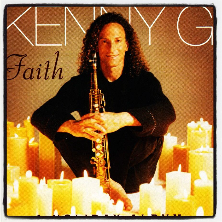 """Faith"" - Kenny G. We always listen to this while baking!"