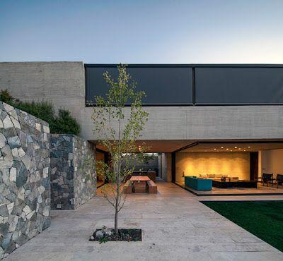 Casas minimalistas y modernas minimalismo en chile - Minimalismo en casa ...