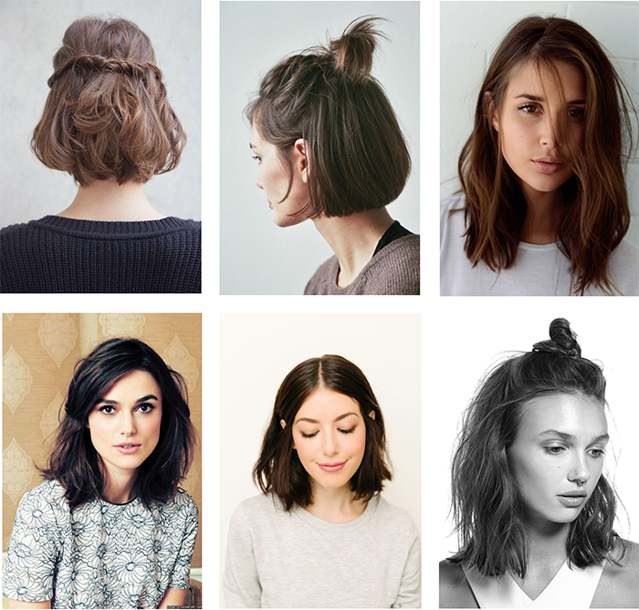 Hairstyles For Awkward Length Hair Ellie S Favourite Things Hair Lengths Pretty Hairstyles Hair