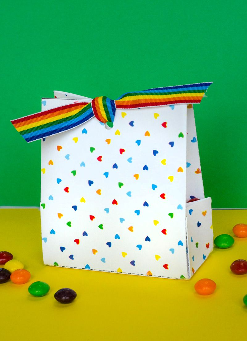 Celebrate all the colors with this FREE Printable Rainbow Treat Bags by Lindi Haws of Love The Day. Available as a free download.