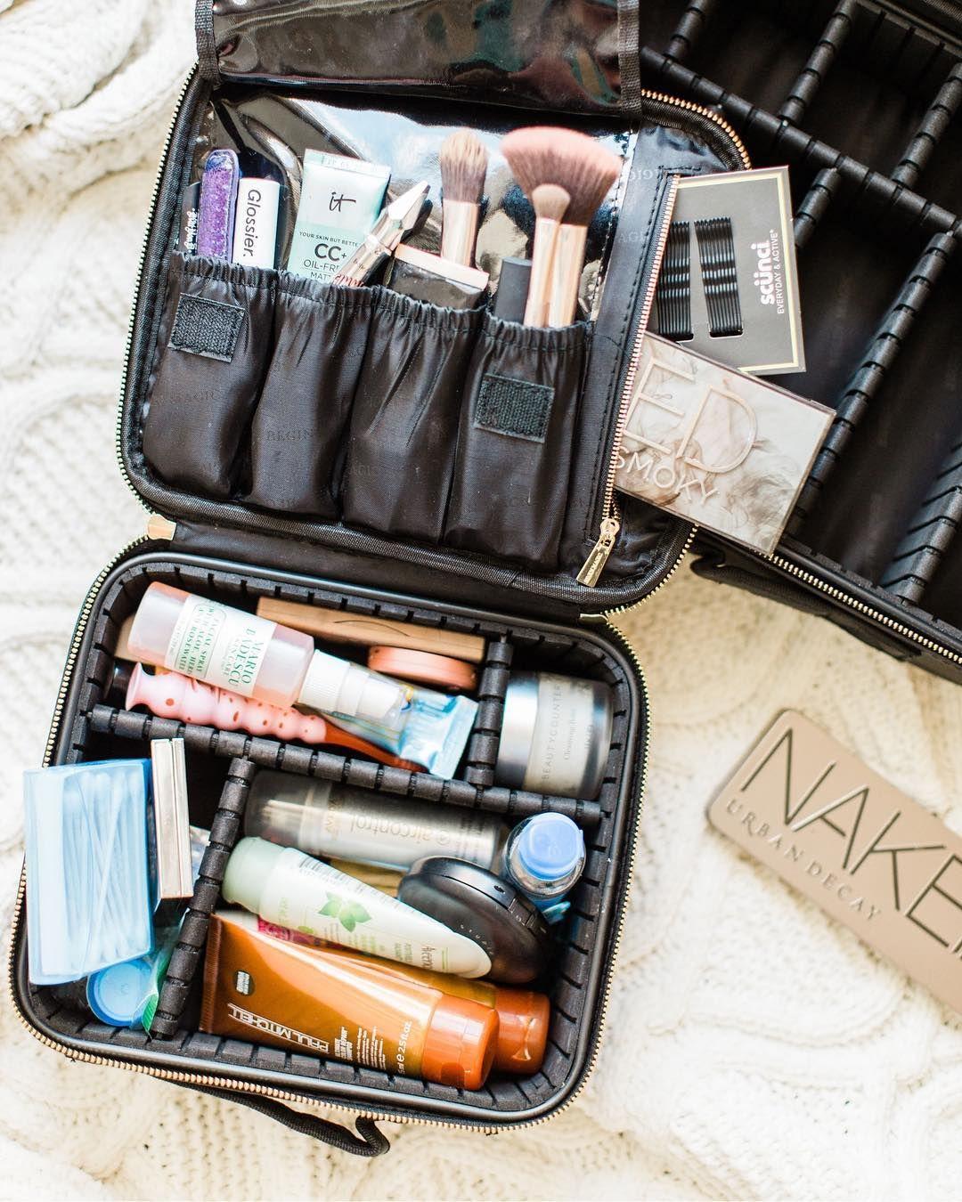 Lexi Glitter Inc Glitterinclexi Best Travel Makeup Bag