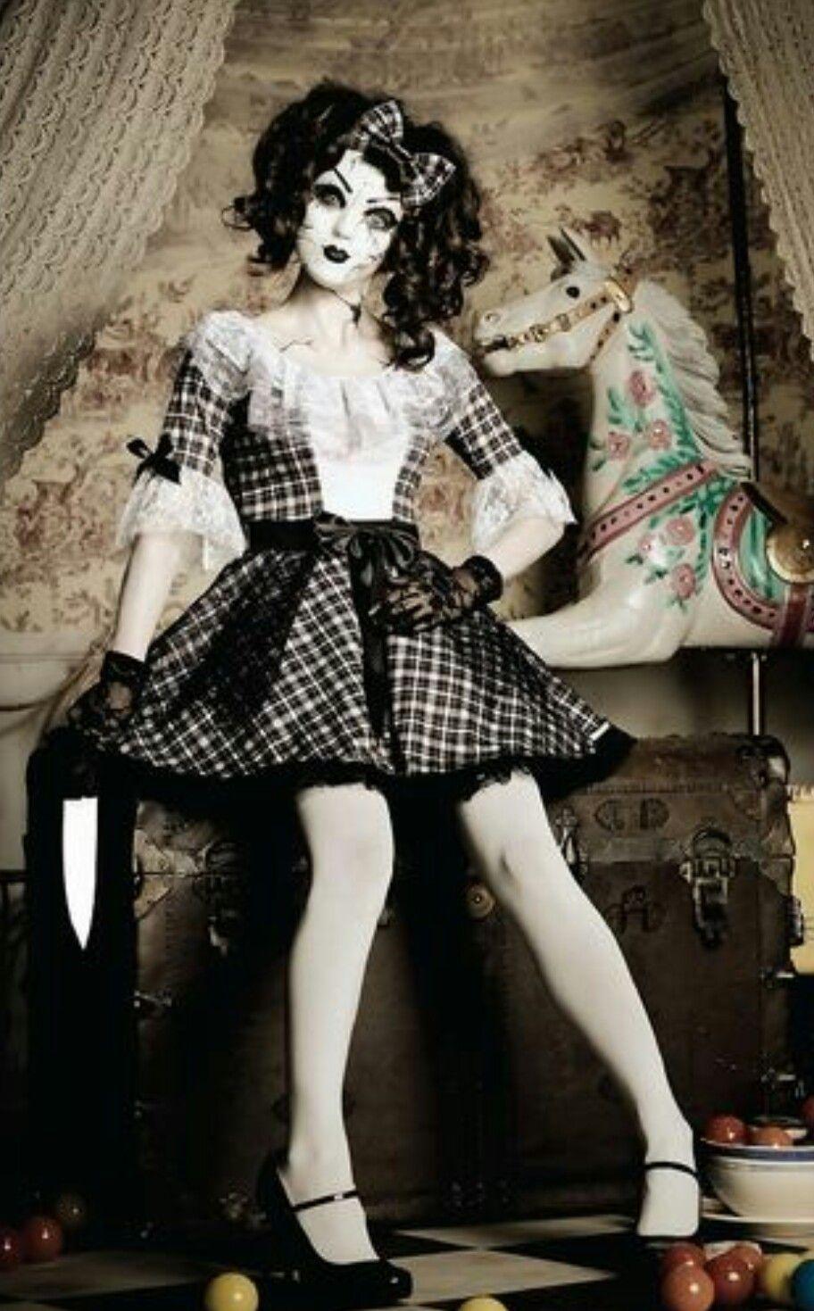Muñeca Disfraz Disfraces De Terror Disfraces De Miedo De Halloween Halloween Disfraces