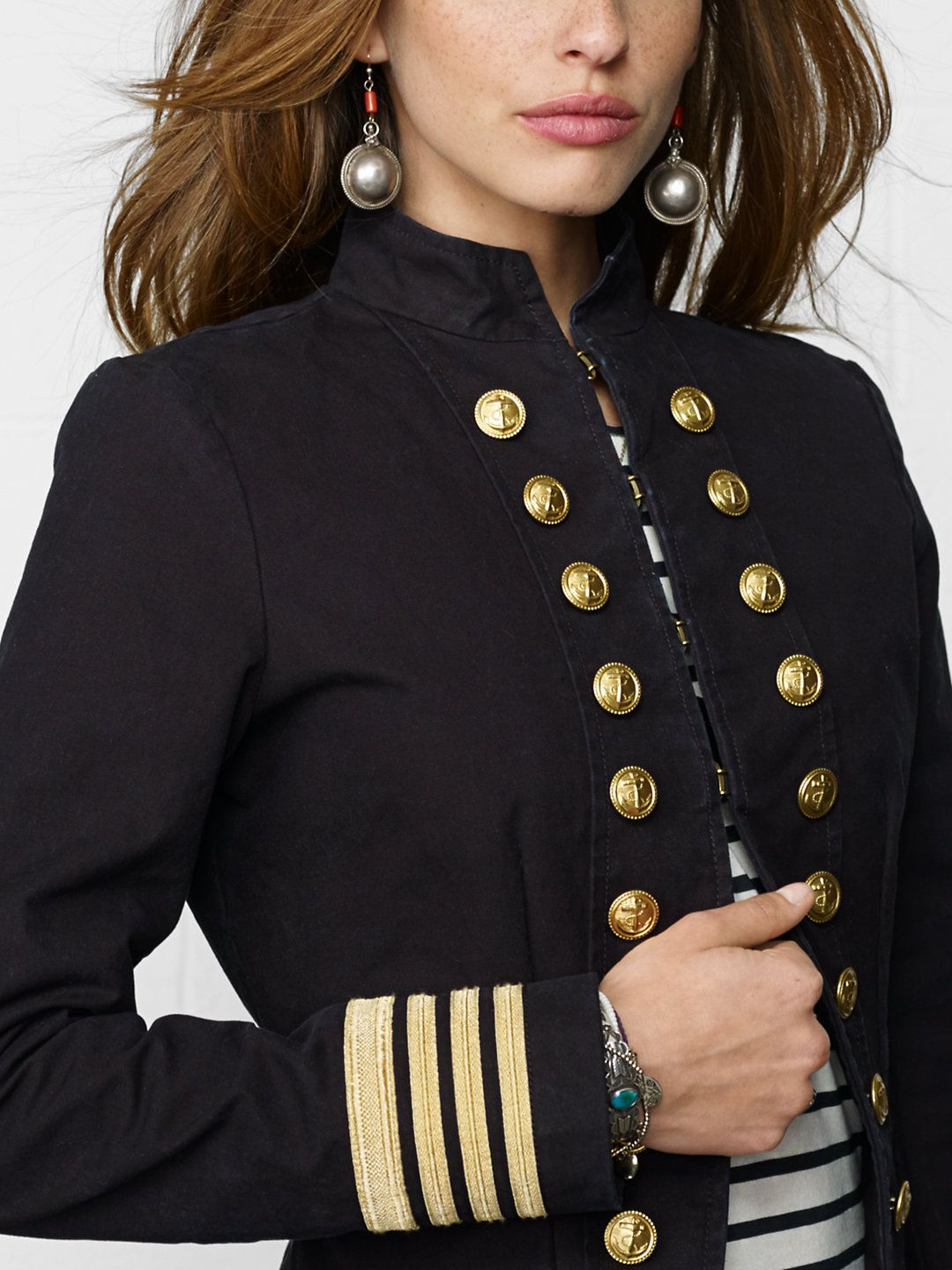 Captain S Coat Outerwear Women Ralphlauren Com