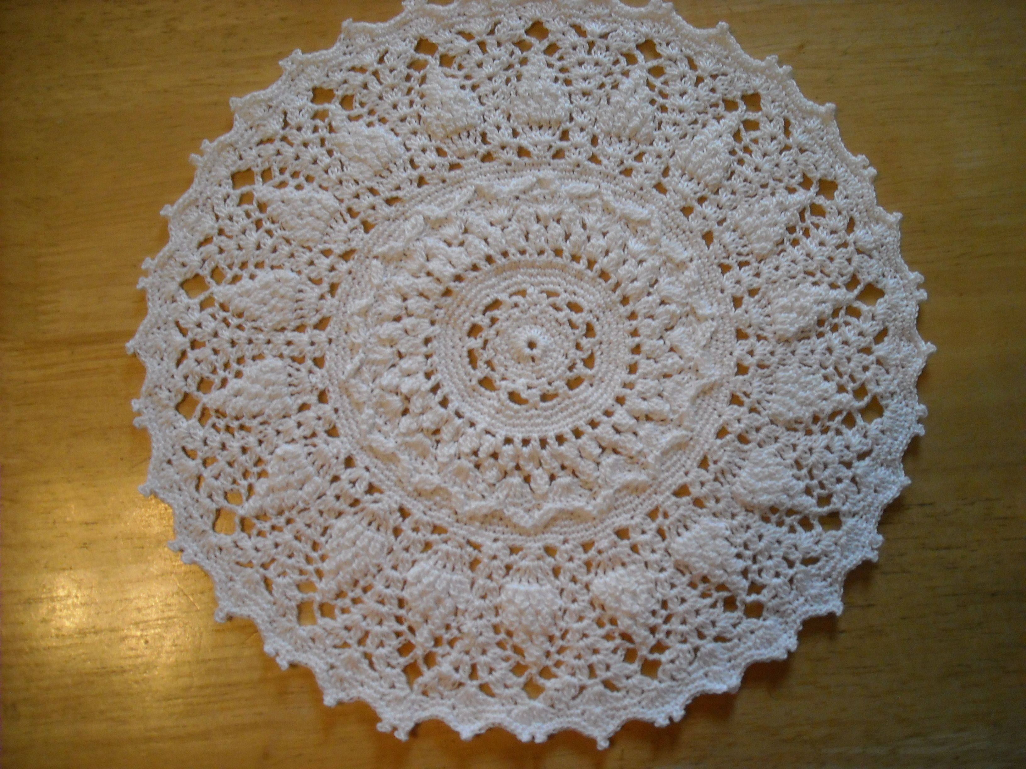 Large Crocheted Doily