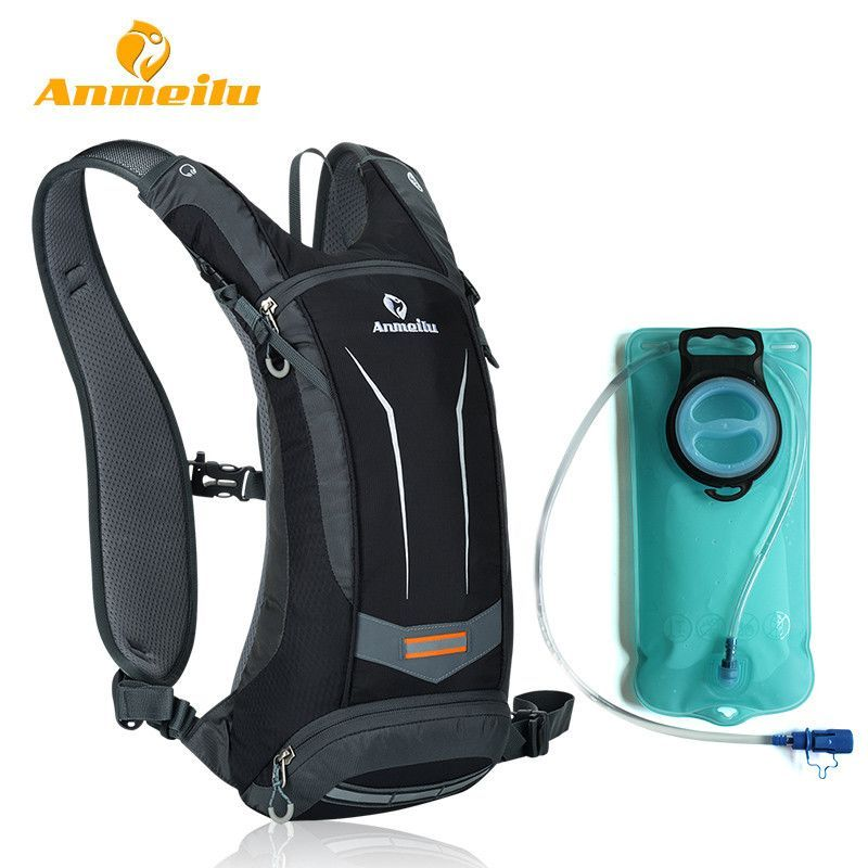 970942878498 ANMEILU Waterproof MTB Bicycle Bike Bag Mochila Ciclismo 5 Colors Outdoor  Sports Cycling Backpack Hydration Pack + 2L Water Bag