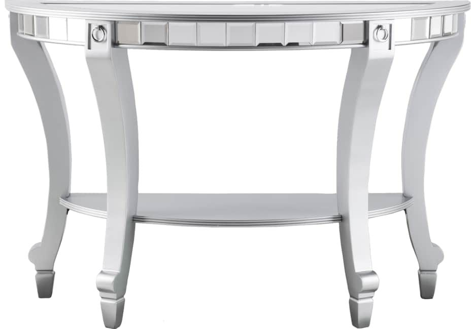 Lumley Silver Console Table