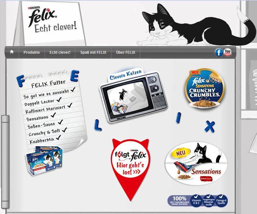 Die Website von Katzen wie Felix sieht toll aus! Vor allem sind die neuen Aktionen sehr interessant. Und das #Katzenfutter sicherlich gut :)  www.katzenwiefelix.de