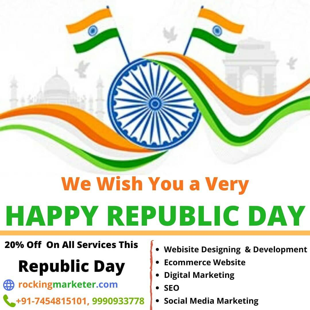 We Wish You A Very Happy Republic Day Republic Day Wish Quotes Republic Day Message Happy republic day images 26 january