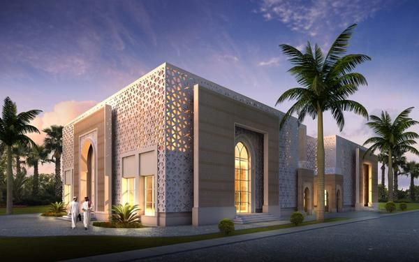 Atelier white on architecture mosque and architects for Mosque exterior design