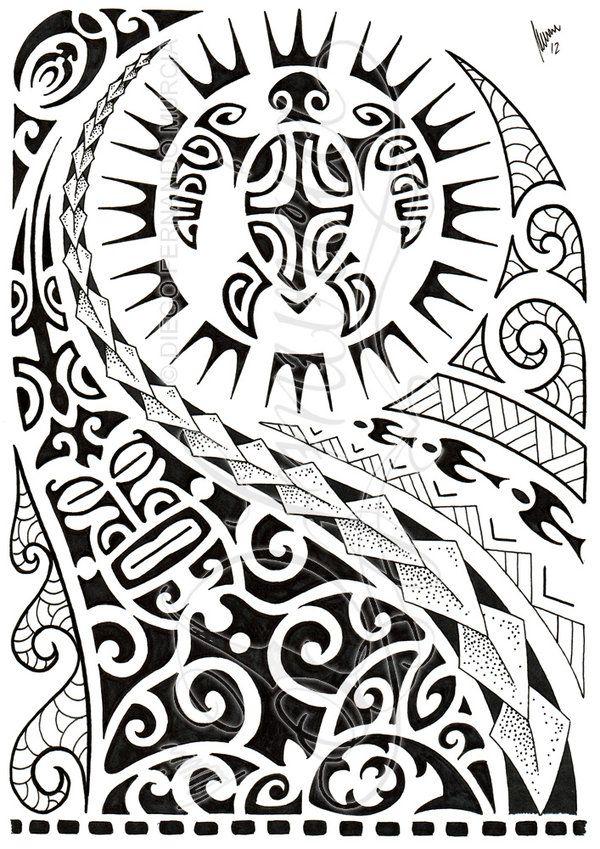 Polynesian Half Sleeve 02 By Dfmurcia