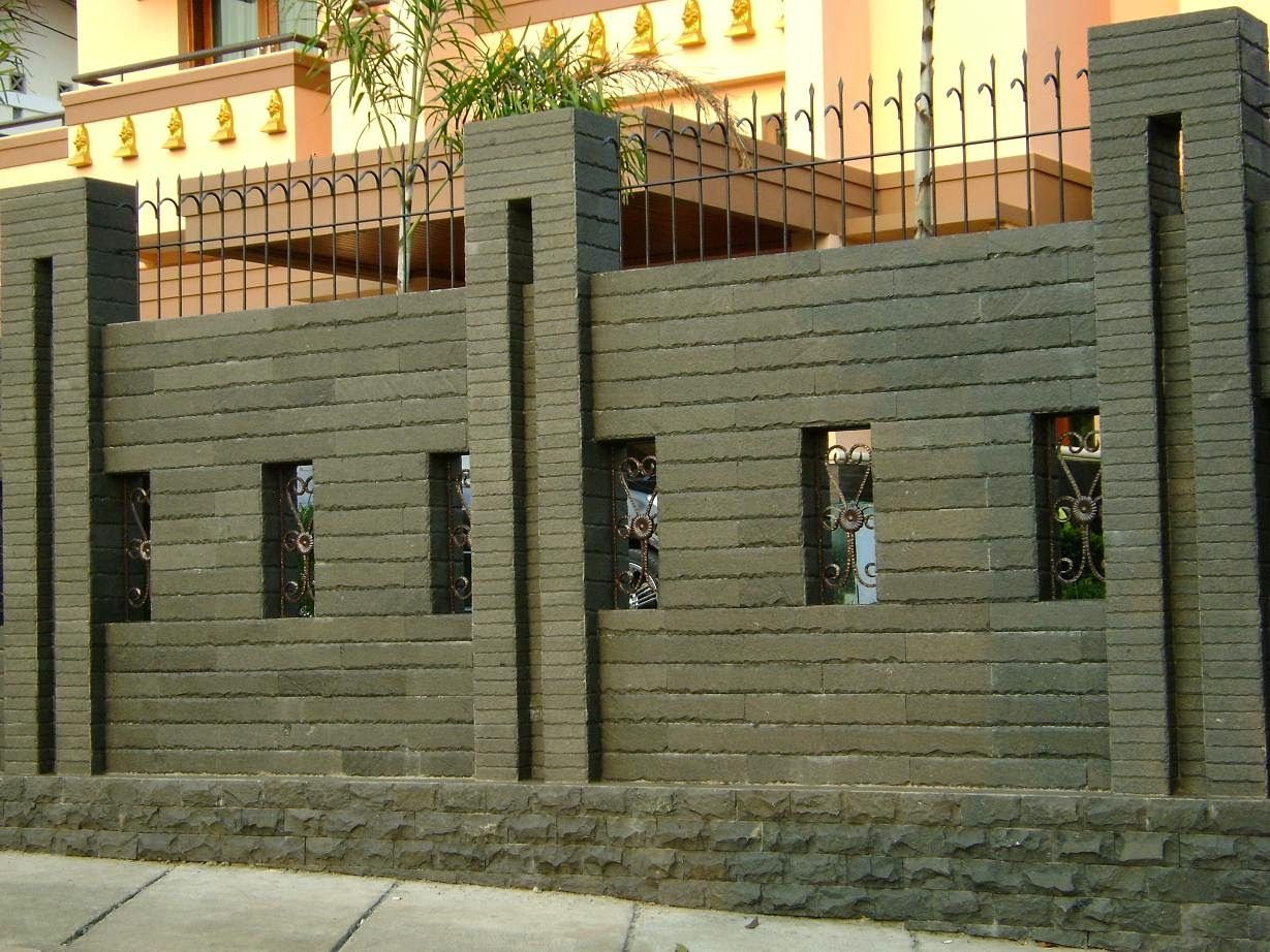 Model pagar tembok  compound wall also pin by chimboda asidaway on design in pinterest house rh