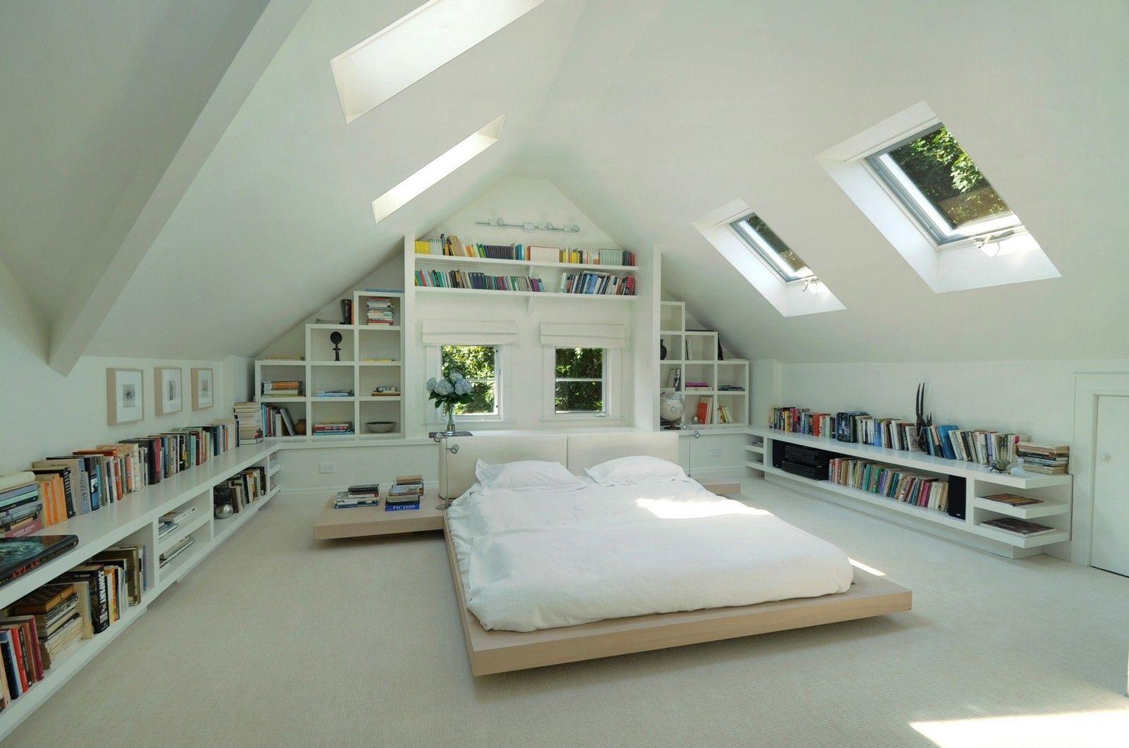 pingl par zosia samosia sur pokoj poddasze pinterest clairage sous sol mansarde et combles. Black Bedroom Furniture Sets. Home Design Ideas