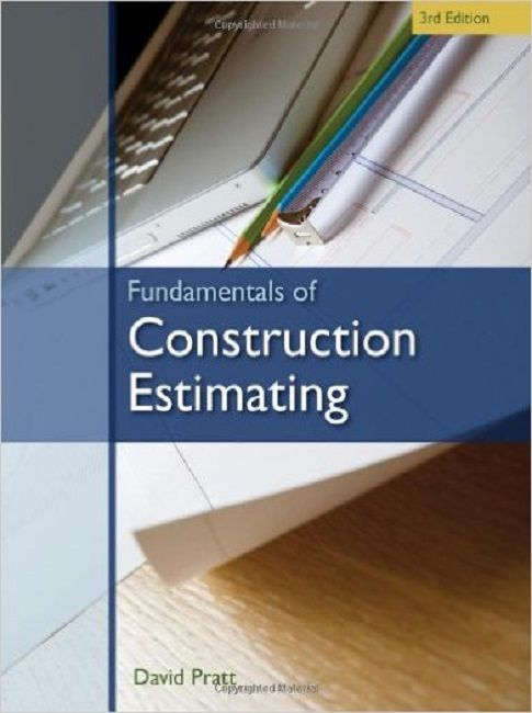 Fundamentals Of Construction Estimating  Rd Edition  Quantity