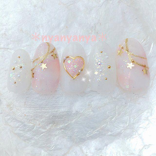 nail trends I adore. #winternailart #koreannailart