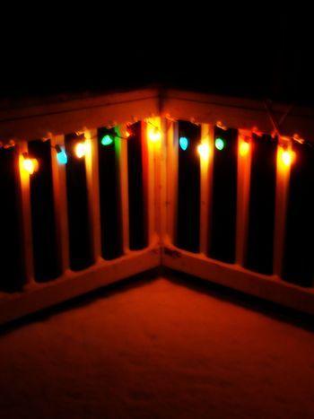 christmas lights on balcony - Google Search   Christmas ...