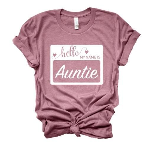 Hello My Name is Auntie