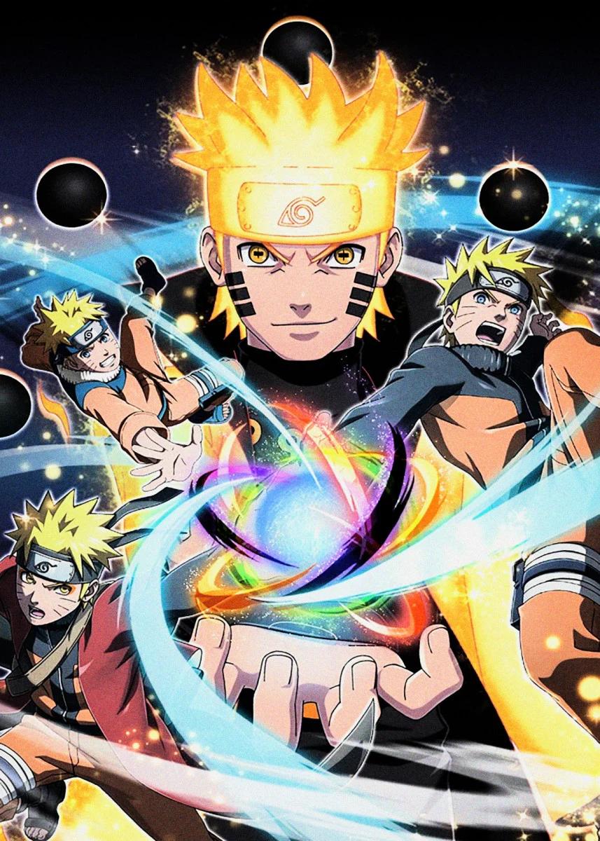 Pin on Naruto Wall Art Metal Poster