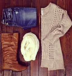Great outfit for the chilly weather