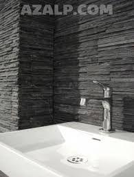 Afbeeldingsresultaat voor badkamer steenstrips | Tegeltjes | Pinterest