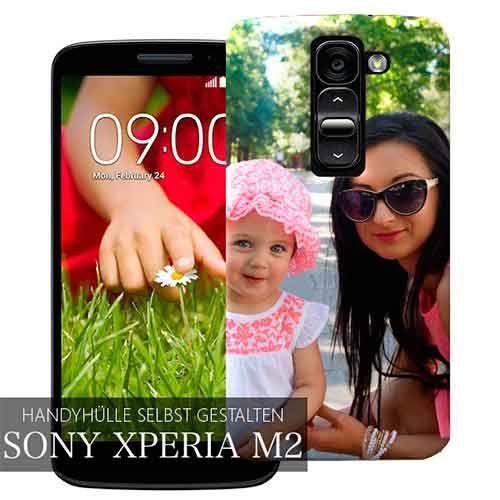 Sony Xperia M2 Hülle selbst gestalten auf C-ase.de! ✓ Express Versand ✓ Top…