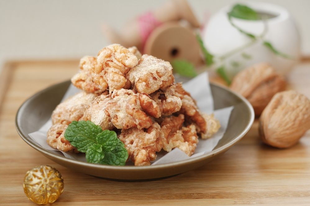 Nueces caramelizadas al estilo chino - Nueces de California