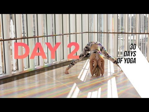 day 2 ♥ flow for the hamstrings  30 days of yoga 5