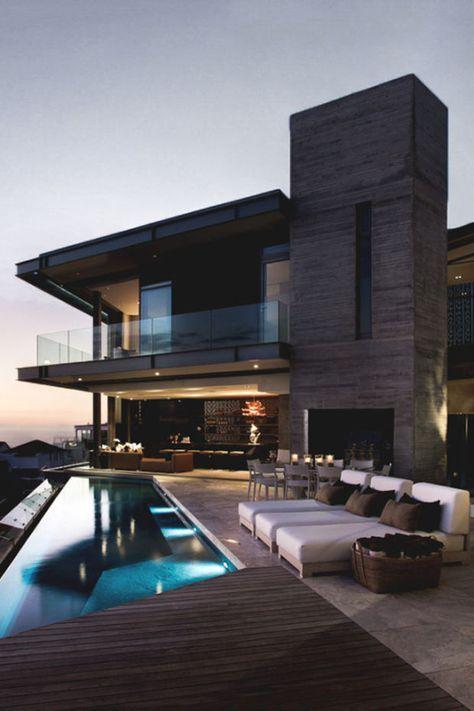 moderne innenarchitektur einfamilienhaus, pin von henry auf architektur | pinterest | haus, haus, Design ideen
