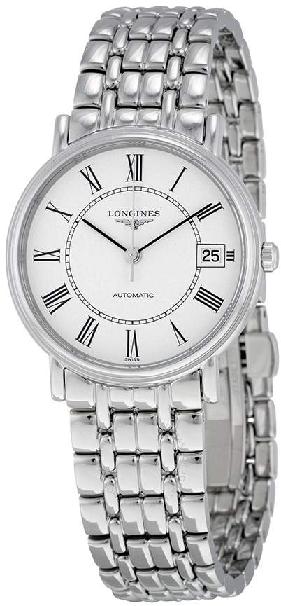 4c7235a1ac3 Longines Presence Automatic White Dial Men's Watch | Products ...