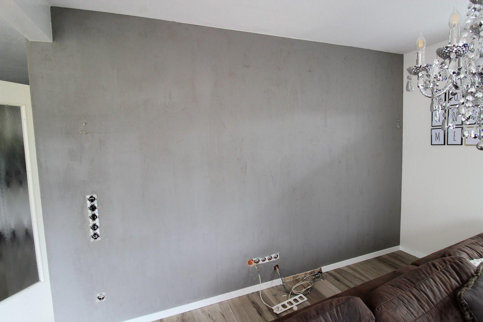 Diy Wandgestaltung In Beton Optik So Einfach Geht Es Diy Wandgestaltung Wandgestaltung Betonoptik Wandgestaltung