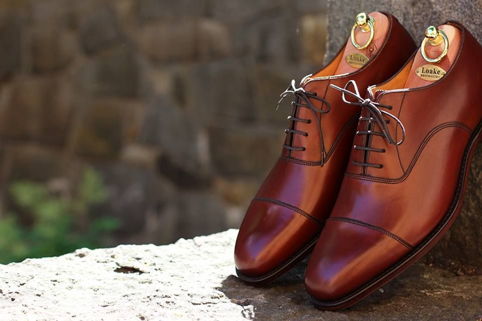 da95aa3212d Loake Aldwych in Mahogany is a top quality calf oxford on the new Capital  last with