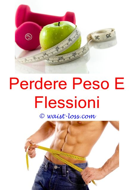 perdere peso tempo