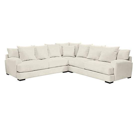 Stella Corner Sectional 3 Pc Home In 2019 Corner Sectional