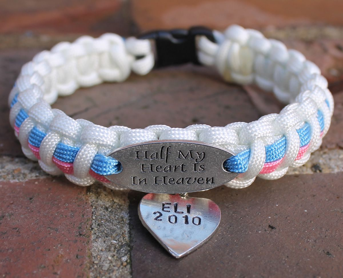 Finders Keepers Creations Pregnancy Infant Loss Awareness Charm Tag Bracelet 21 99 Http