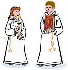 Image result for altar server clip art