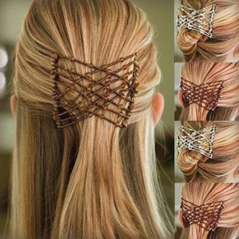 Flexible Butterfly Hair Clip Magic Elastic Comb Women Haircut New Styling Tool